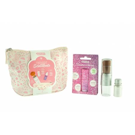 Pink Sparkling Pouch
