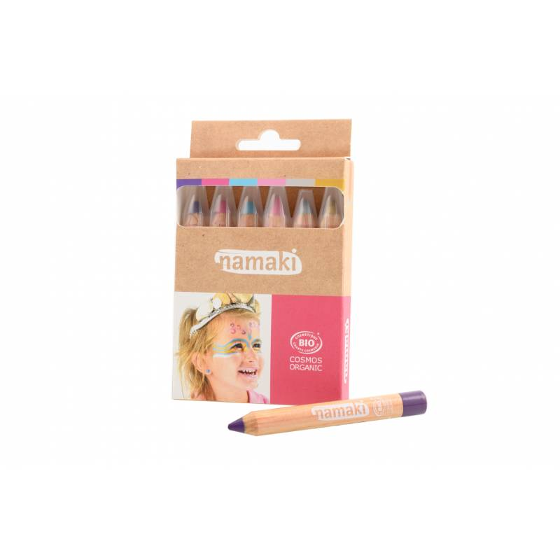 Set of 6 Magical Worlds Skin Colour Pencils