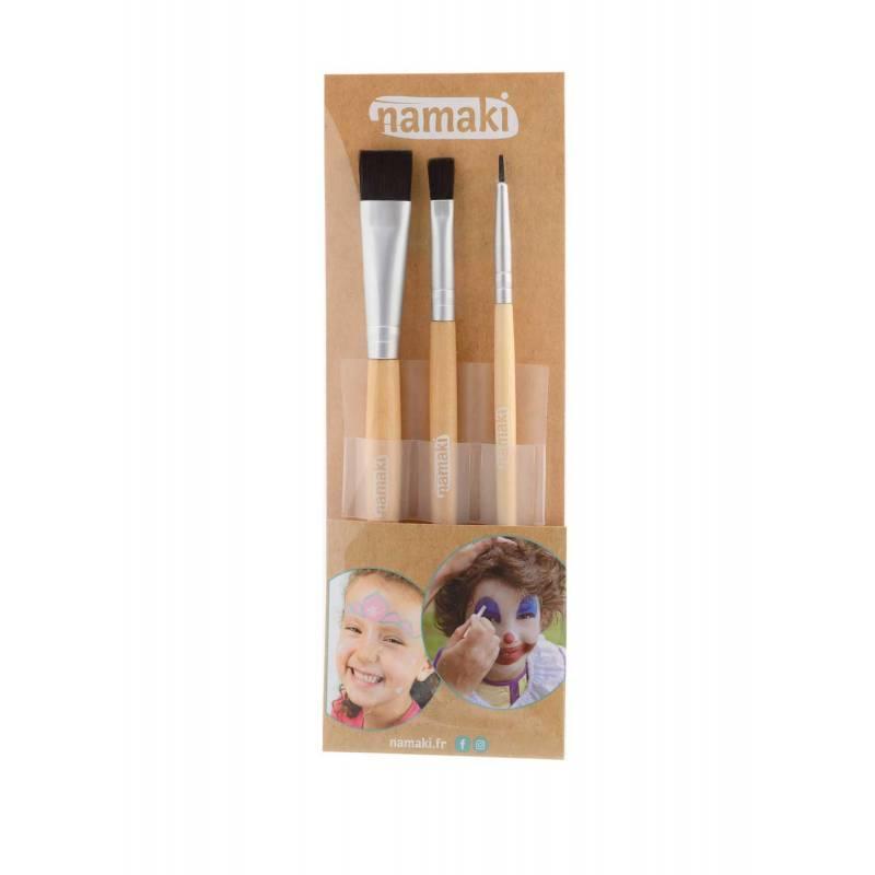 3 make-up brushes set
