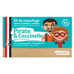Pirate & Ladybug 3-Color Face Painting Kit