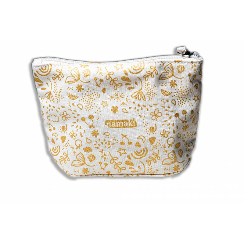 Empty Gold Sparkling Pouch