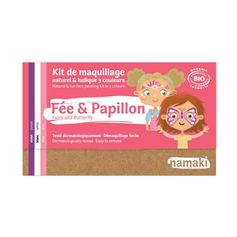 Fairy & Butterfly 3-Color Face Painting Kit