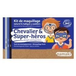 Kit de maquillage 3 couleurs Chevalier & Super-héros