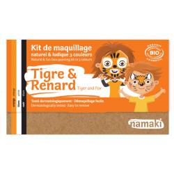 Tiger & Fox 3-Color Face Painting Kit