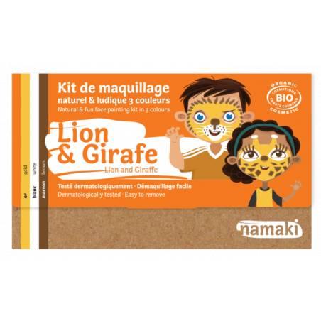 Lion & Giraffe 3-Color Face...