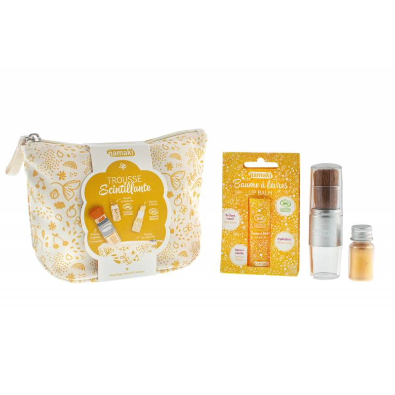 Gold Sparkling Pouch