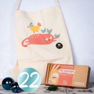 JOUR 22 - CONCOURS 🎄 Félicitations à @66nanouche66 qui remporte le lot 🥰 Pour la 22ème case de notre calendrier, la marque @laqueueduchat vous offre un tablier super chou pour les cuisiniers en herbe. Nous complétons ce lot avec un kit 8 couleurs Vie Sauvage 🎁  Pour participer :  ✨ Suivre les pages Namaki & La Queue du chat ✨ Inviter 2 amis à participer  Tirage au sort Demain à 13H30.  Bonne chance les p'tits lutins 💚